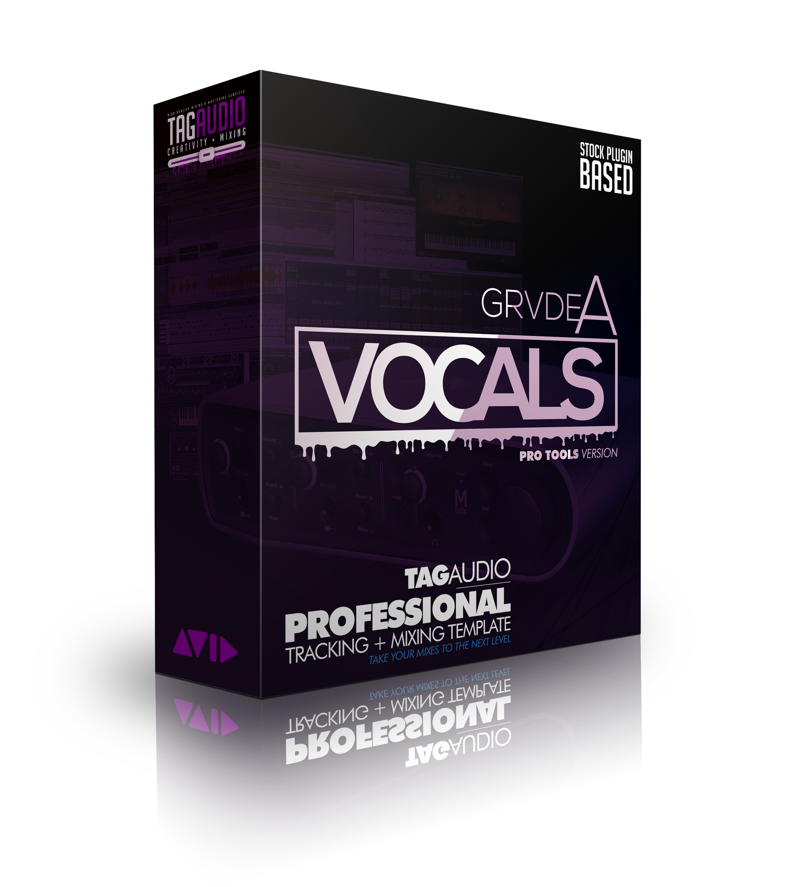 Tagaudio Tracking Mixing Pro Tools Template Built With Stock